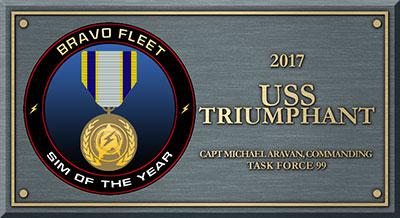 Bravo Fleet Sim of the Year 2017